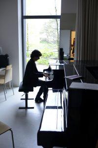 récital de piano, journée portes ouvertes la cité des arts - 30 avril 2016 - @Nicolas Waltefaugle