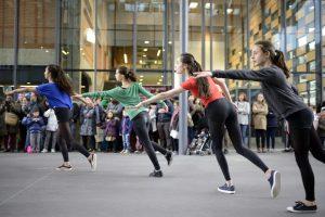 la danse aux JPO 2016 @Nicolas Waltefaugle