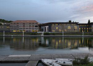 La Cité des Arts, côté Doubs par Nicolas Waltefaugle