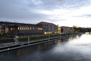 La Cité des Arts, côté Doubs, par Nicolas Waltefaugle