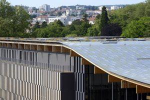 La toiture végétalisée de la Cité des Arts par Nicolas Waltefaugle