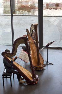 récital de Harpes, journée portes ouvertes la cité des arts - 30 avril 2016 - @Charlotte Pabst