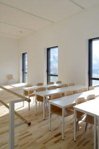 Salle de classe CRR, par Nicolas Waltefaugle